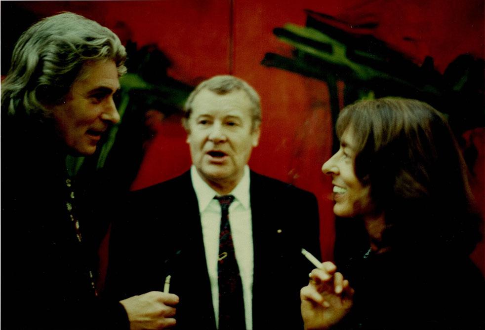 v. l. n. Christel Scherer, Roland Martin und