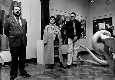 Eröffnung in der Galerie Tuttlingen 1985